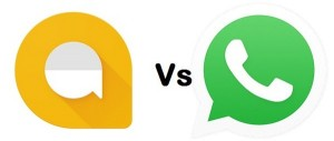 Whatsapp vs Allo