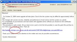 ejemplo de phishing en idclogic