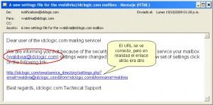 """Cuidado con el """"phishing"""" - hacerse pasar por otro en Internet"""
